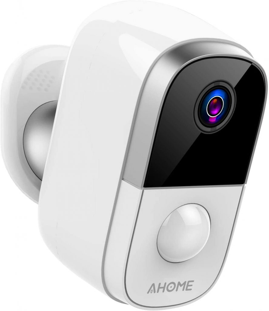 AHOME C1 Wireless Rechargeable Battery Powered Outdoor Security Camera