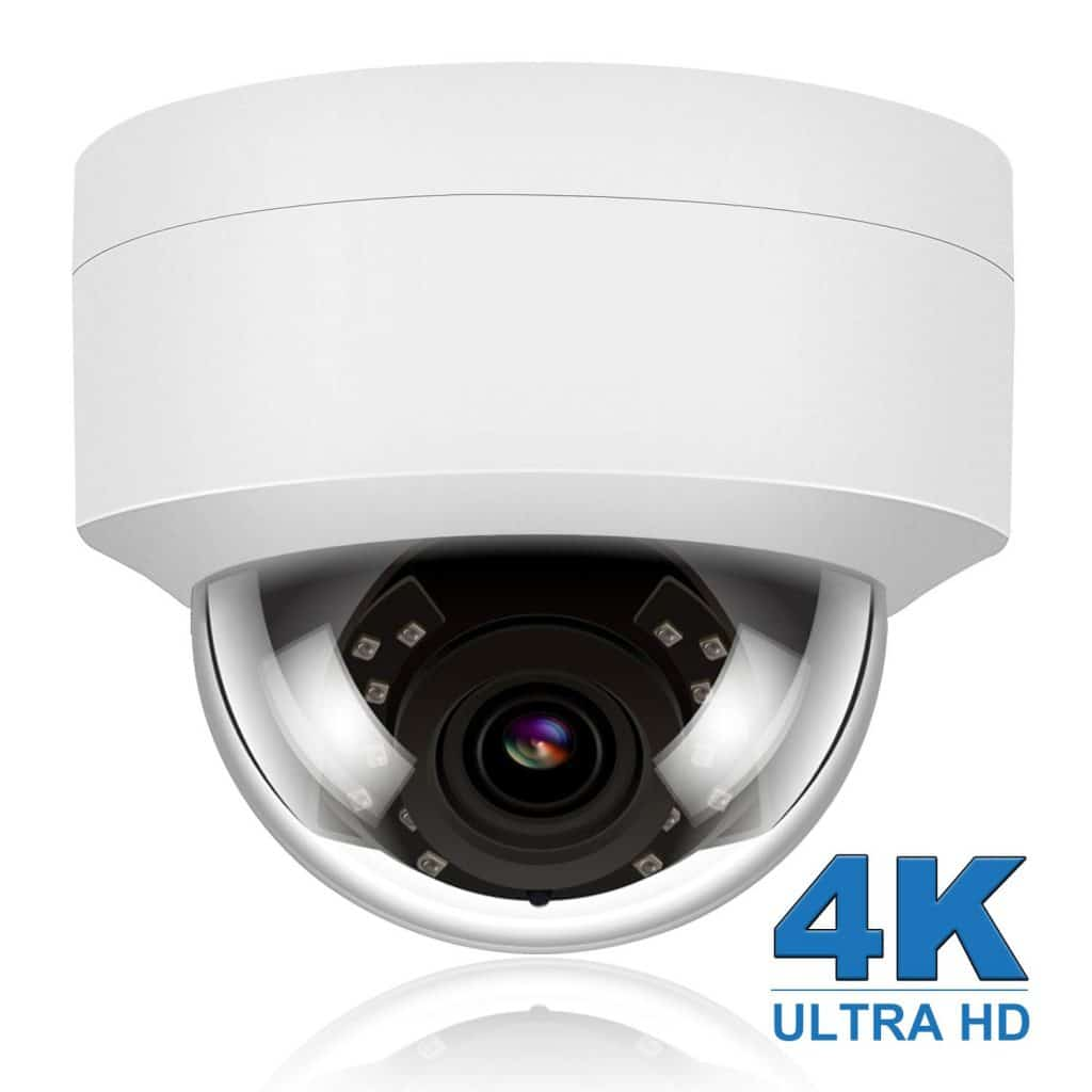 Anpviz 4K 8MP POE IP Security Dome Camera