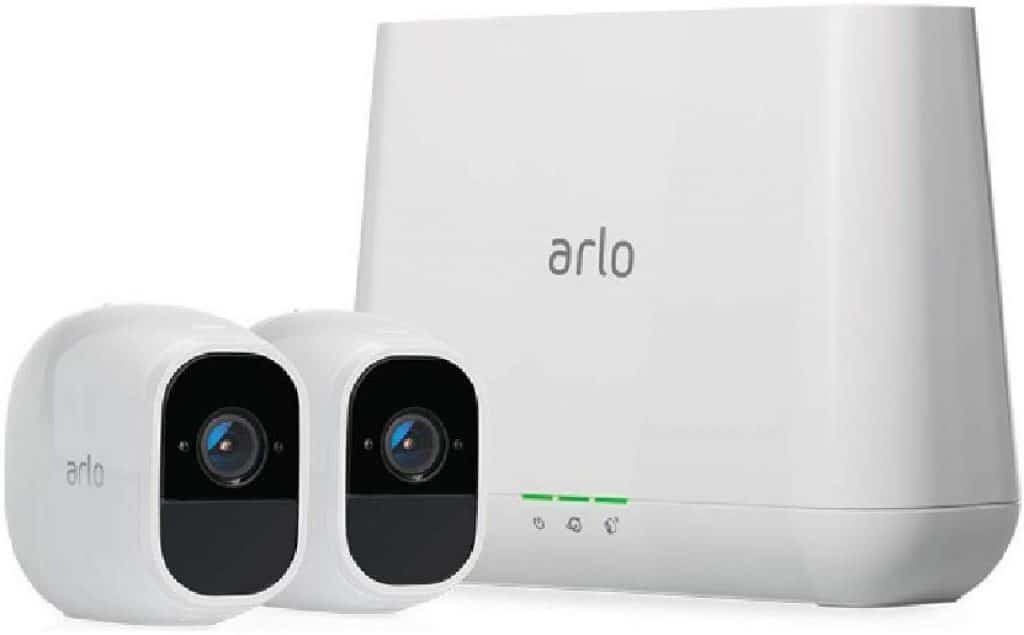 Arlo Pro 2 - Wireless Home Security Camera System with Siren