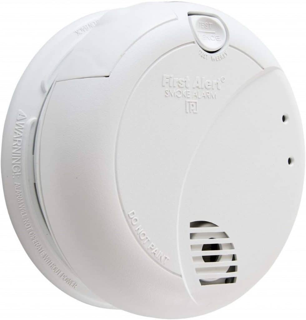 First Alert Hardwired Smoke Alarm, BRK 7010B