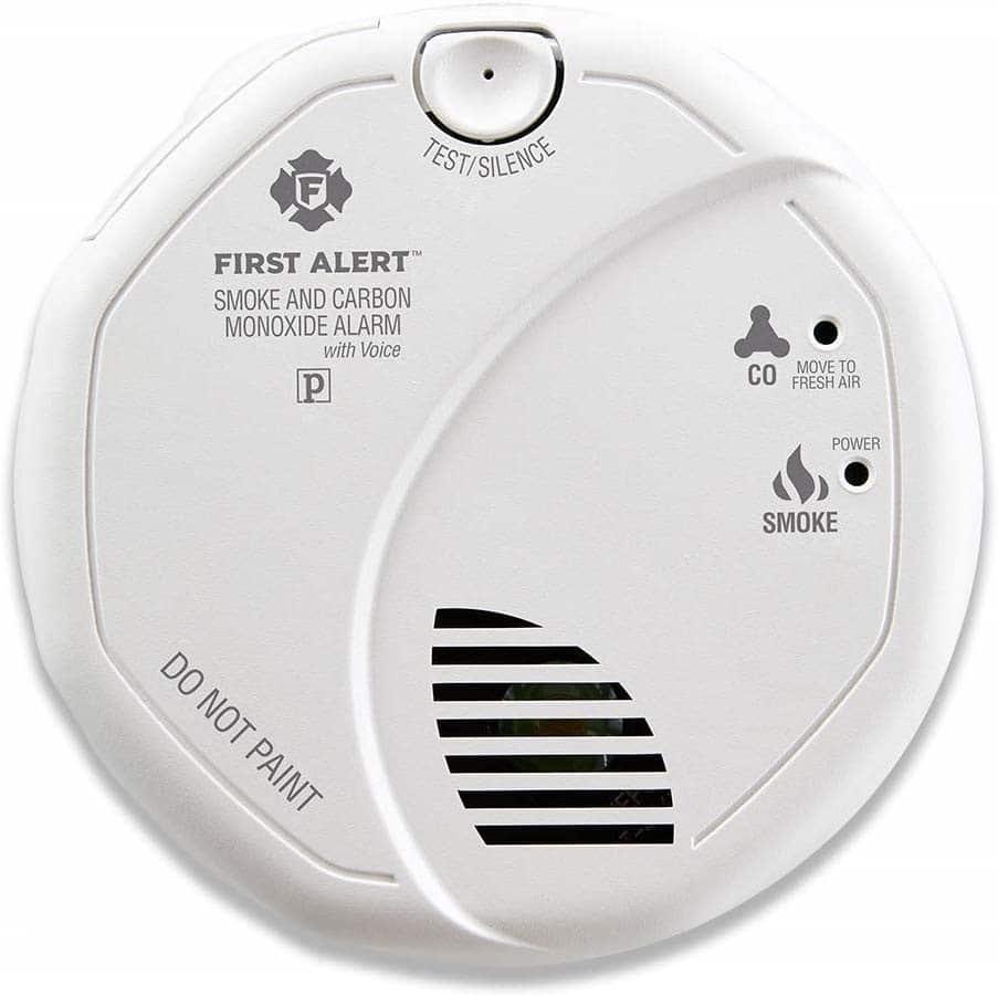 First Alert Hardwired Talking, BRK SC7010BV