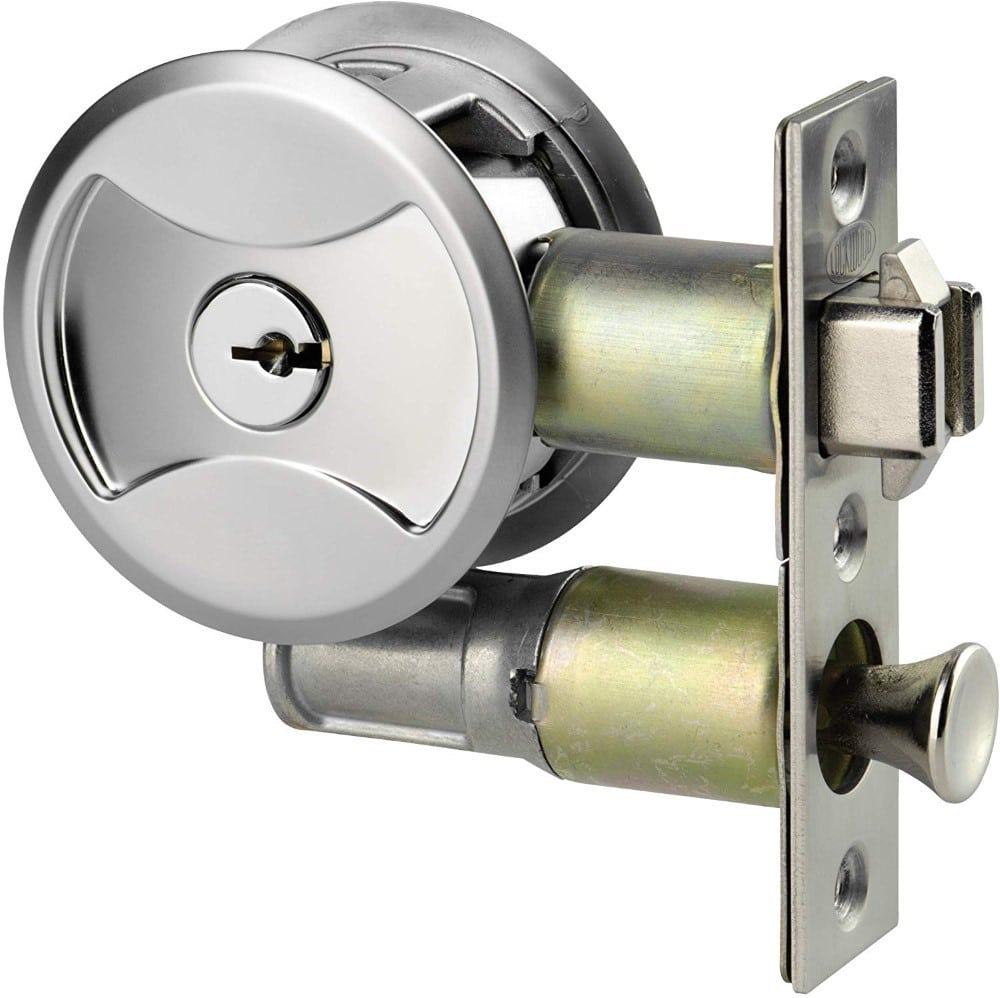 Keyed Pocket Door Lock CL4ENTR