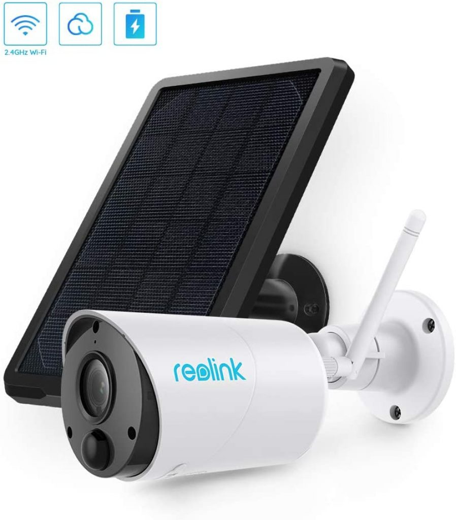 Outdoor Solar Battery Powered Security Camera by REOLINK