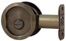 Round Pocket Door Lock (38020)