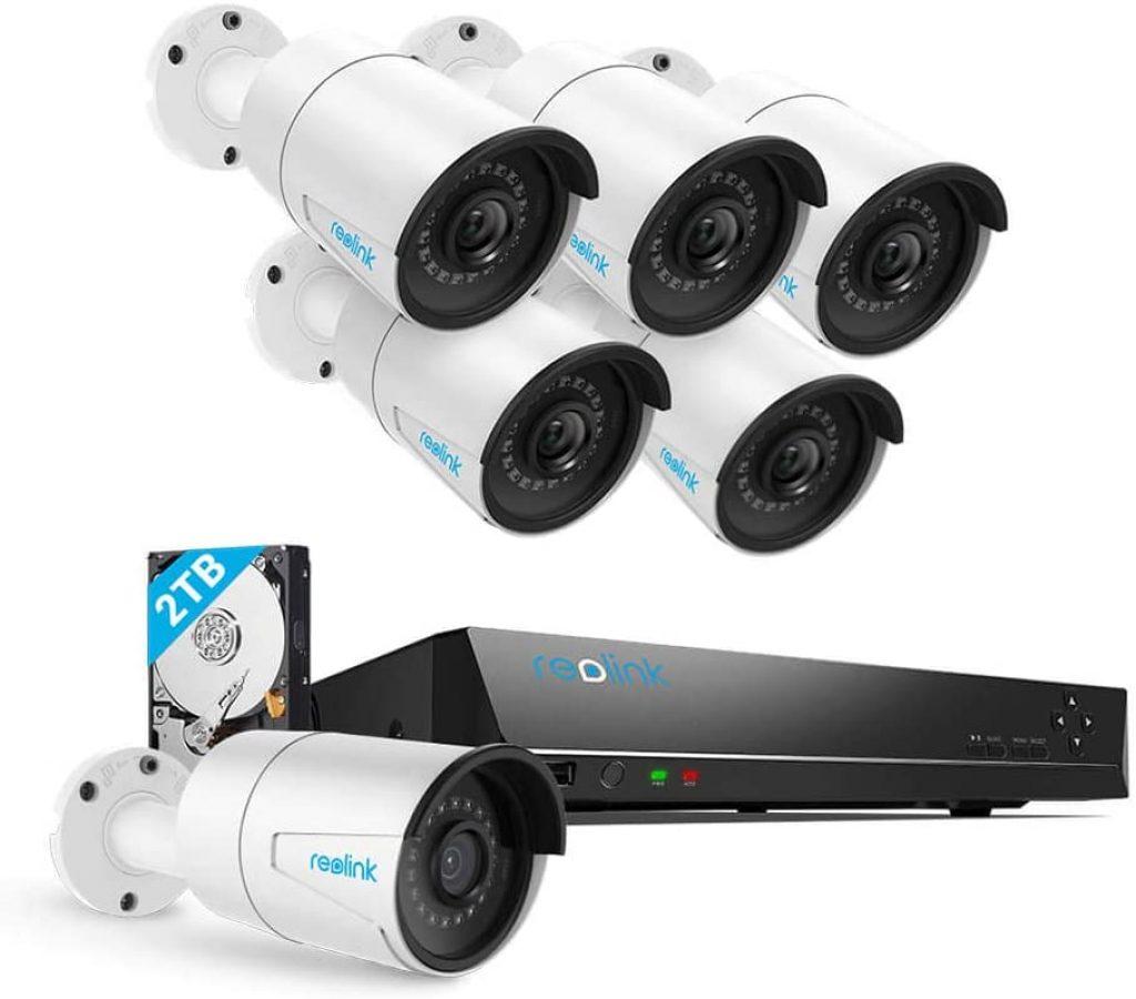 Security Camera System PoE 4K 8 Channel NVR Kit
