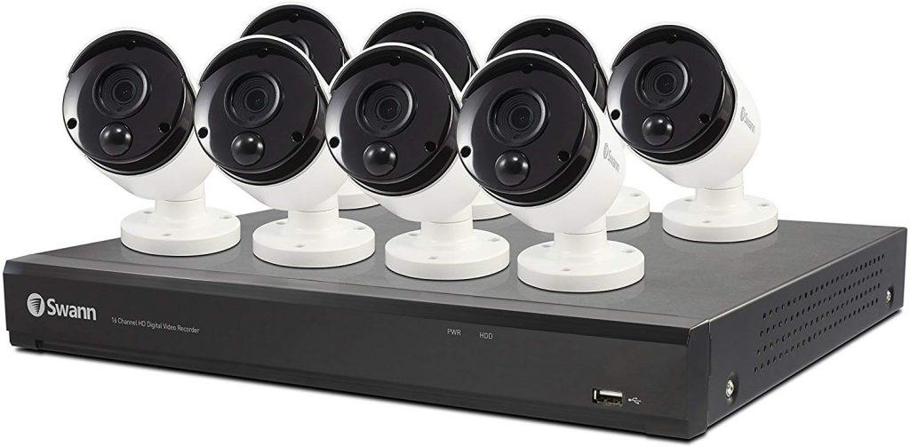 Swann 8 Camera 16 Channel 4K Ultra HD DVR Security System