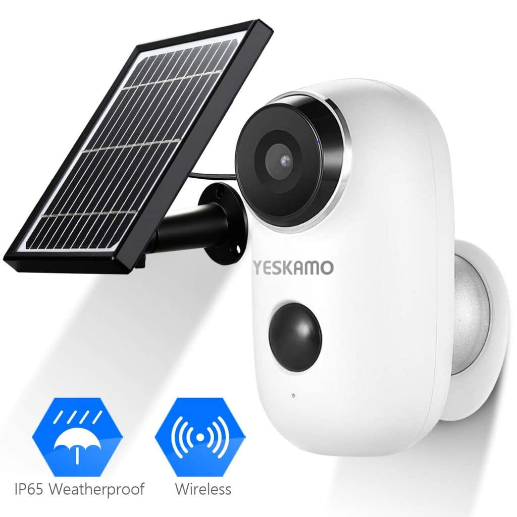 YesKamo Solar Powered Security Camera