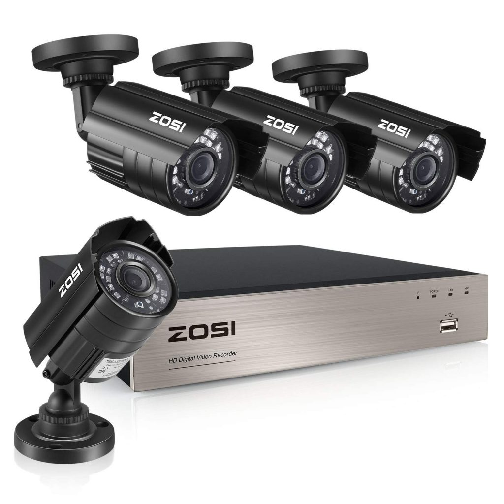 ZOSI 8-Channel HD-TVI 1080N/720P