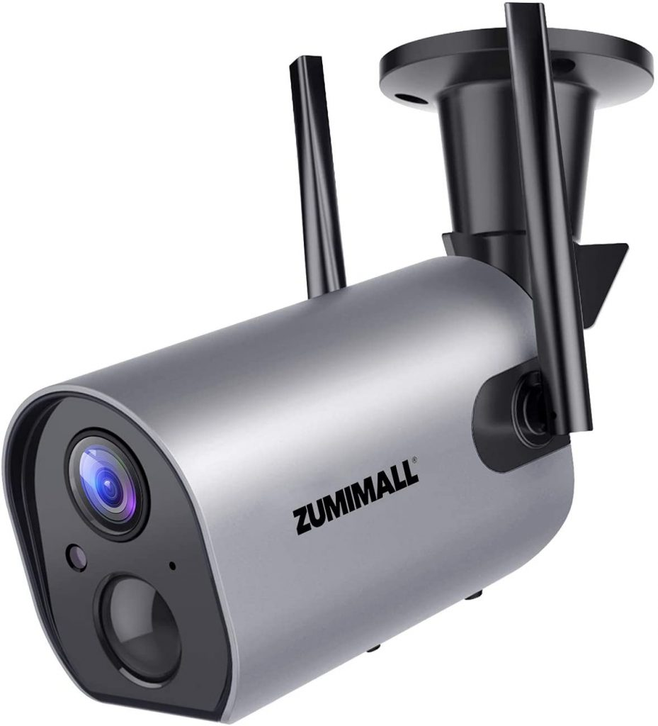 Wireless Outdoor WiFi Security Camera by ZUMIMALL