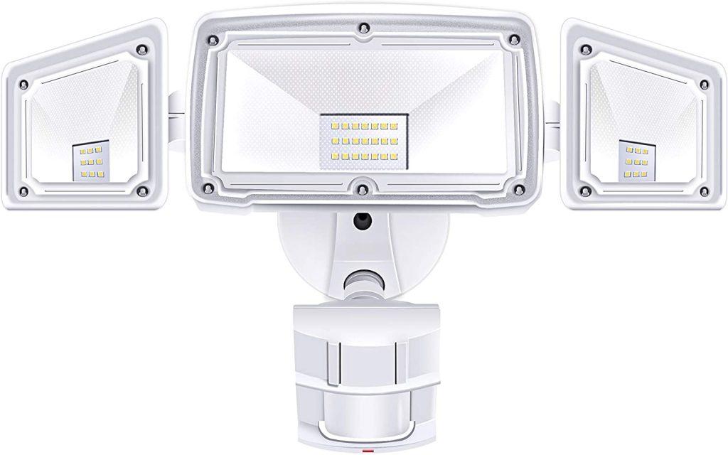 3 Head LED Security Lights