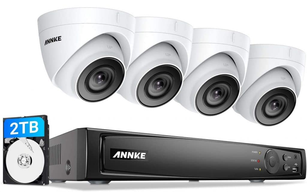 ANNKE 5MP PoE Security Camera System