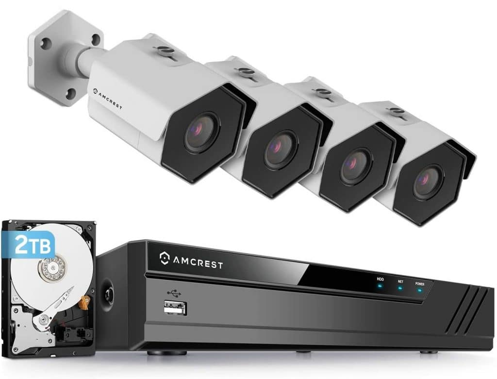 Amcrest 4MP Security Camera System
