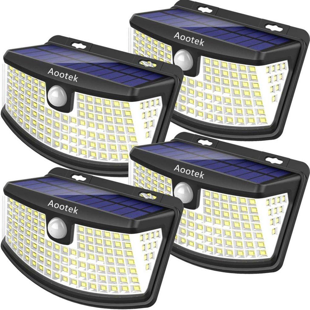 Aootek New solar lights 120 LEDs