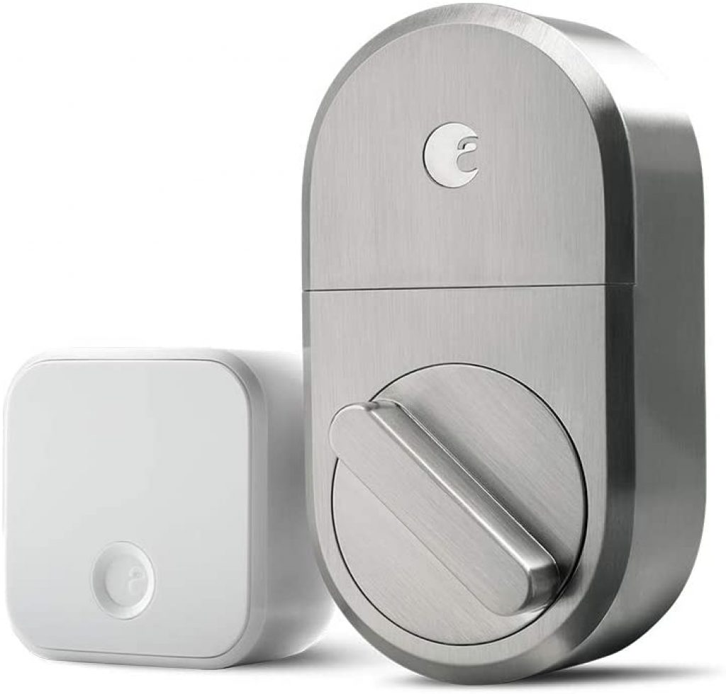 August Smart Lock + Connect Wi-Fi Bridge by August Home