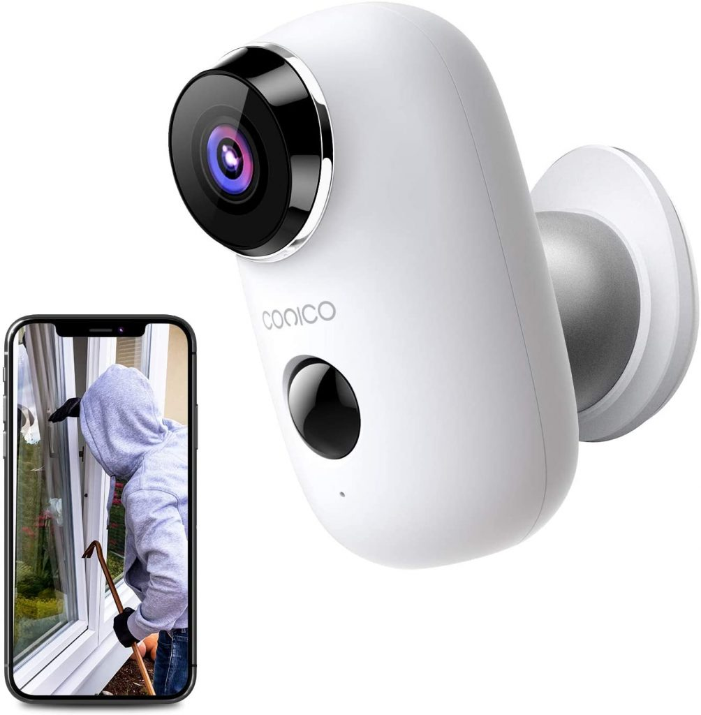 CONICO Battery Powered Security Camera