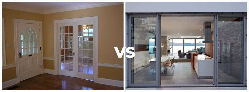 french doors vs sliding door - which is secure