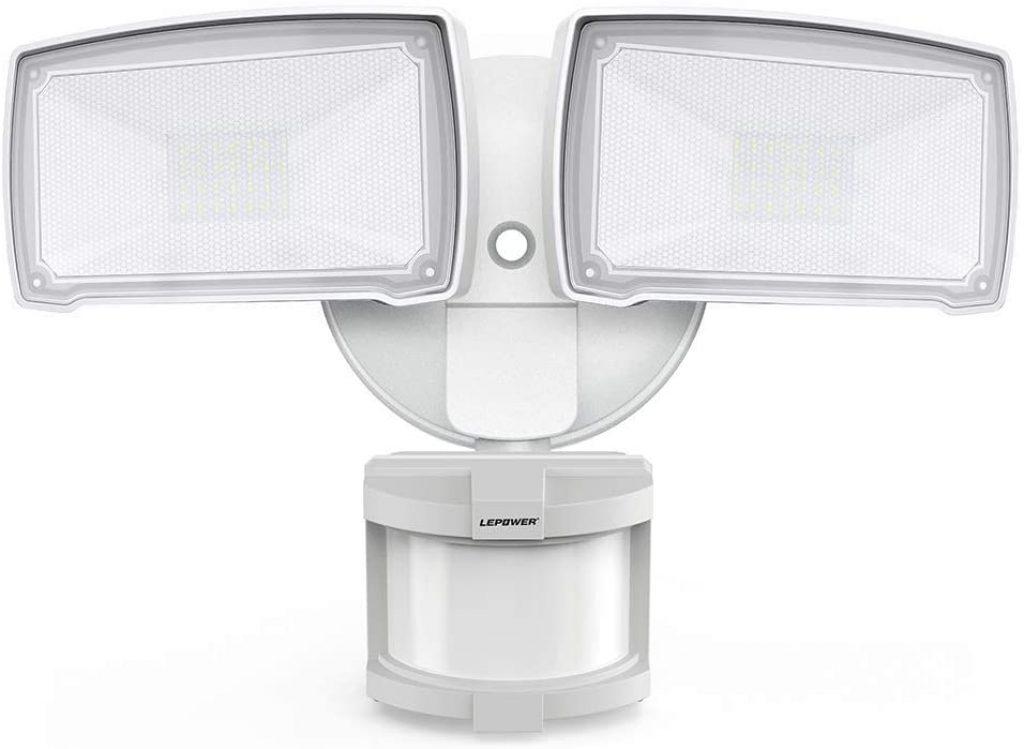LEPOWER 28W LED Security Lights Motion Sensor Light Outdoor