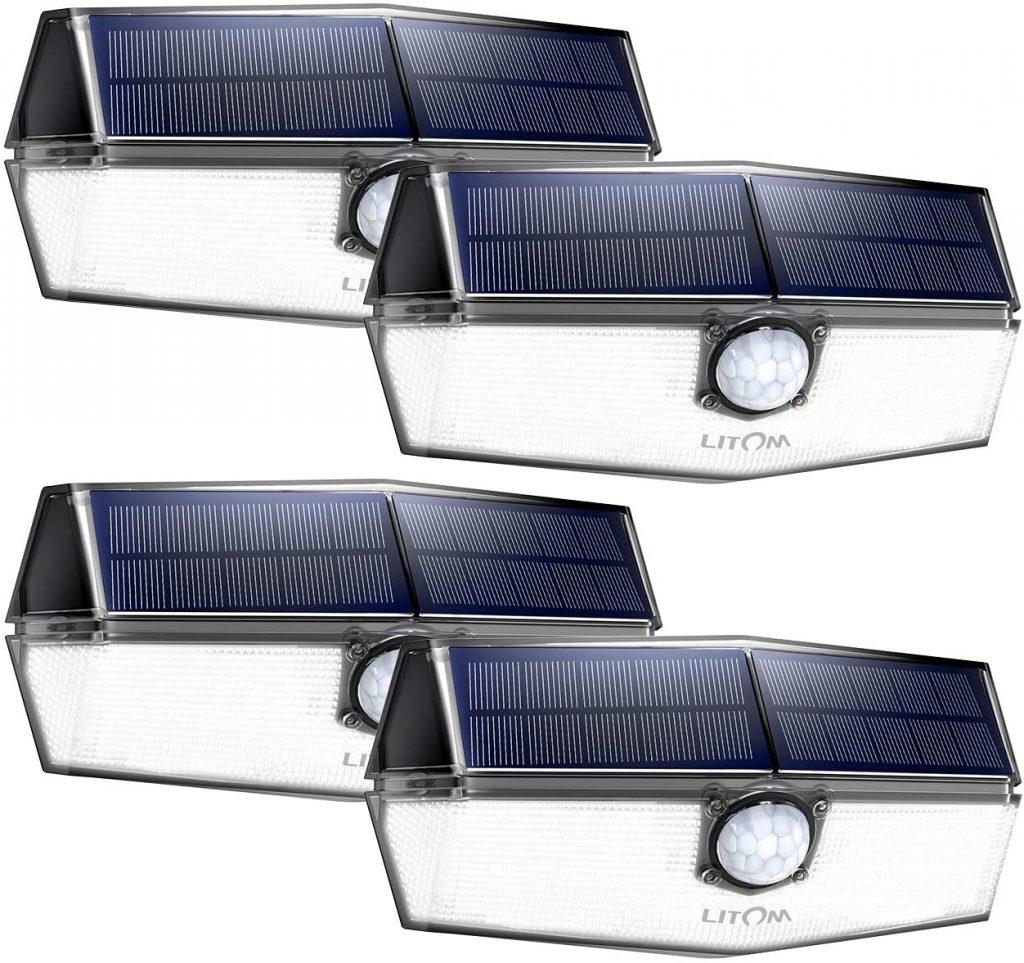 LITOM 120 LED Solar Lights Outdoor