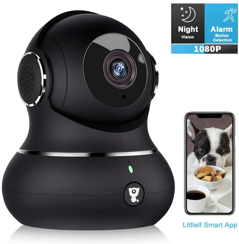 Littlelf 1080P Indoor Wireless WiFi IP Camera