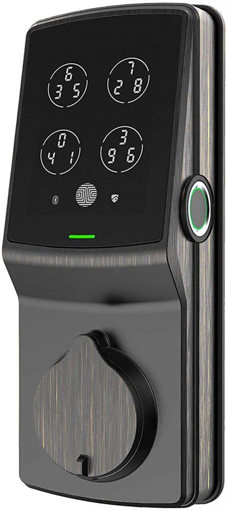 Pin Genie Lockly Bluetooth Keyless Entry Smart Door Lock