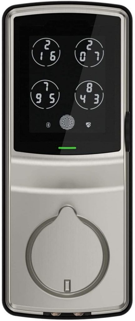 Lockly Keyless Entry Best biometric door lock