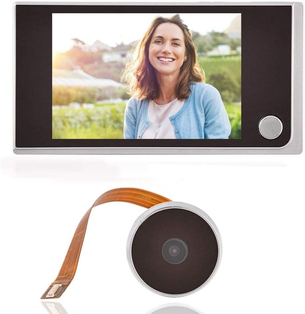 Peephole Digital Door Camera by Zerone