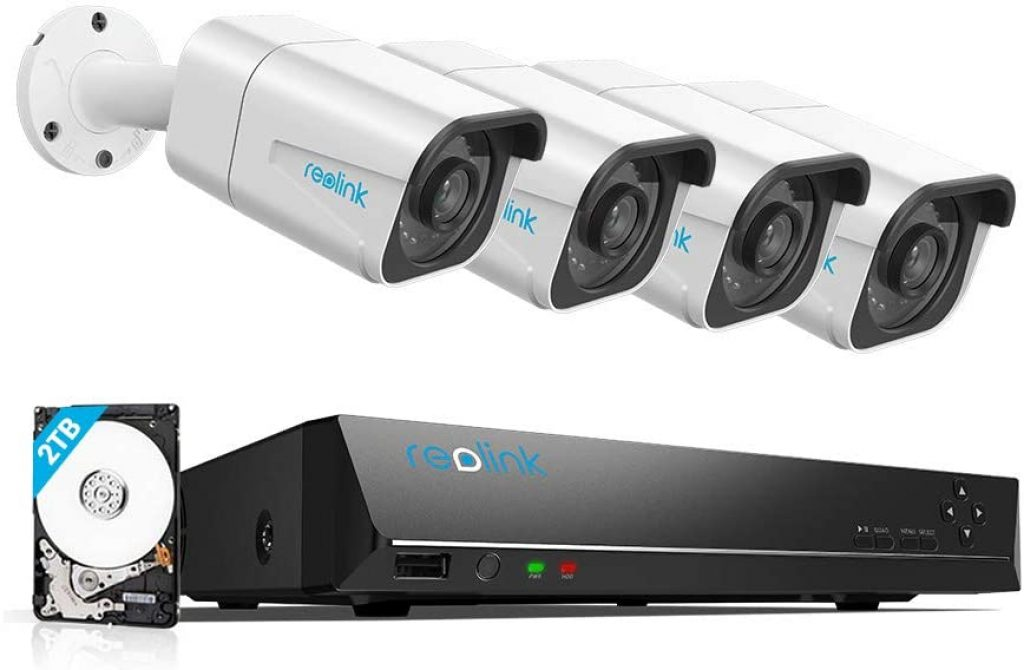 Reolink 4K PoE Security Camera System