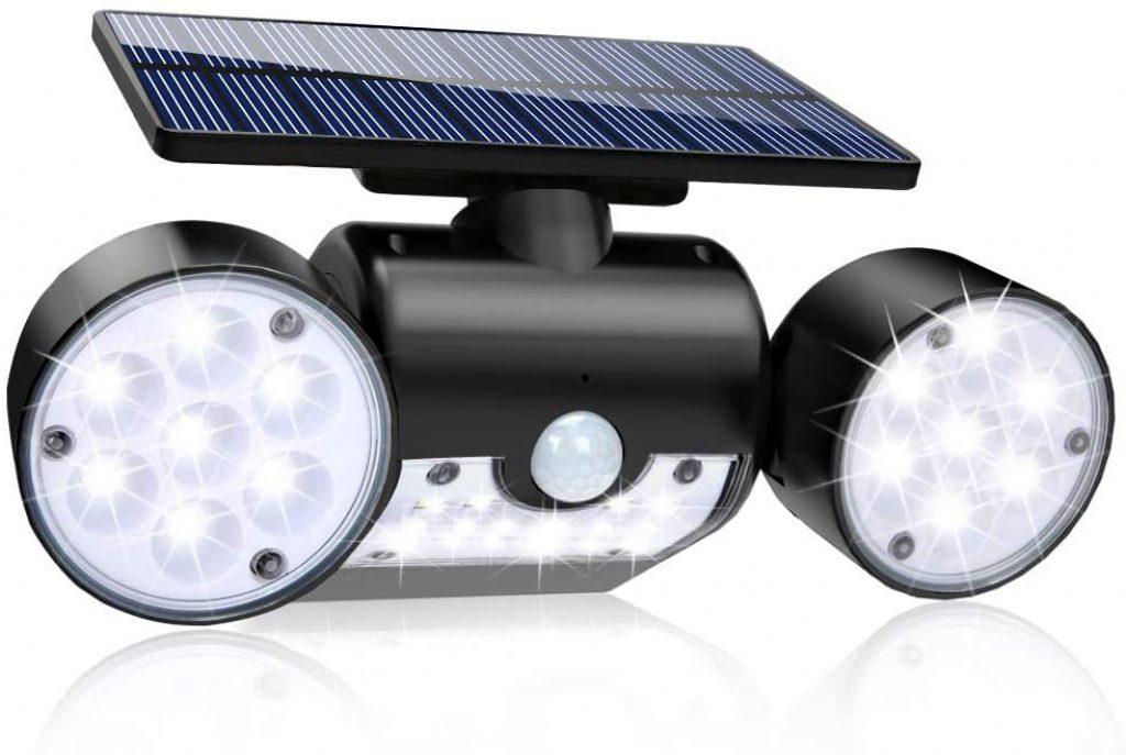 Solar Lights Outdoor, 30 LED Solar Security Lights