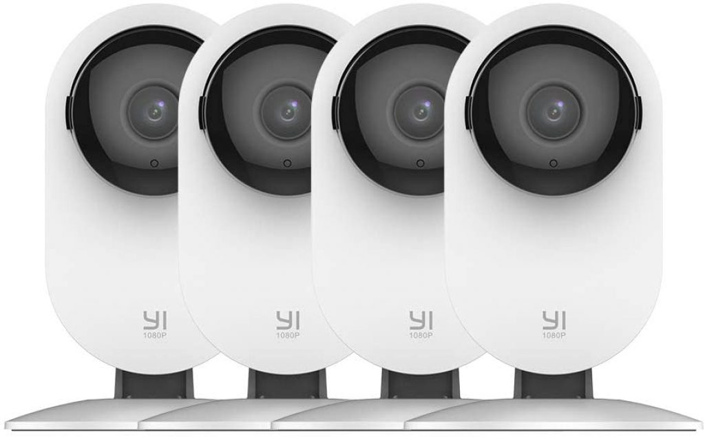 YI 4pc Home security camera