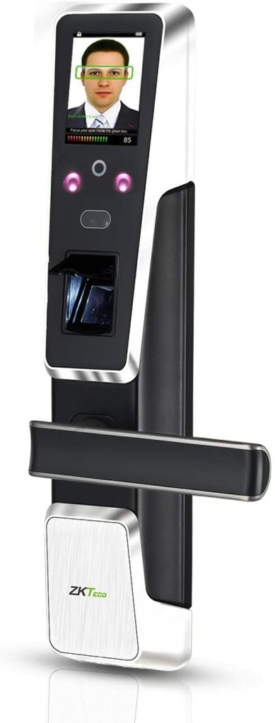 ZKTeco Fingerprint Electronic Door Lock with Face Recognition