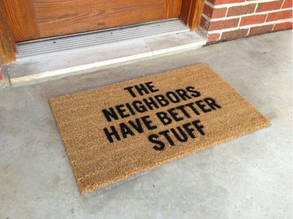 anti- Burglar Door Mats