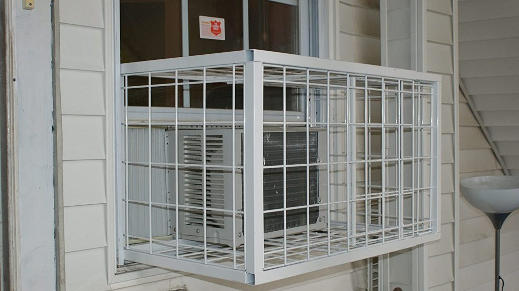Burglarproof window AC unit