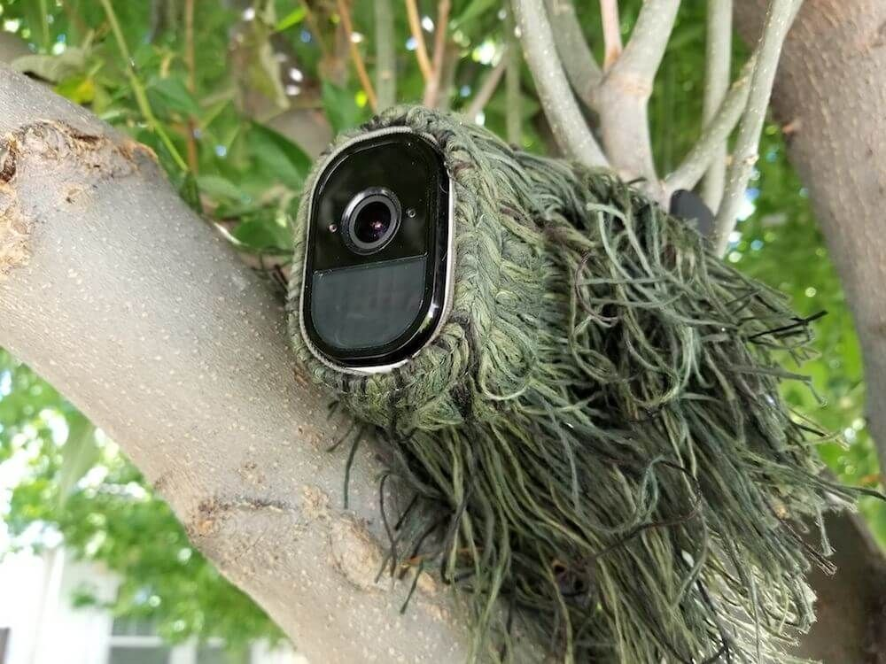 Hide Security Camera Wires Outside