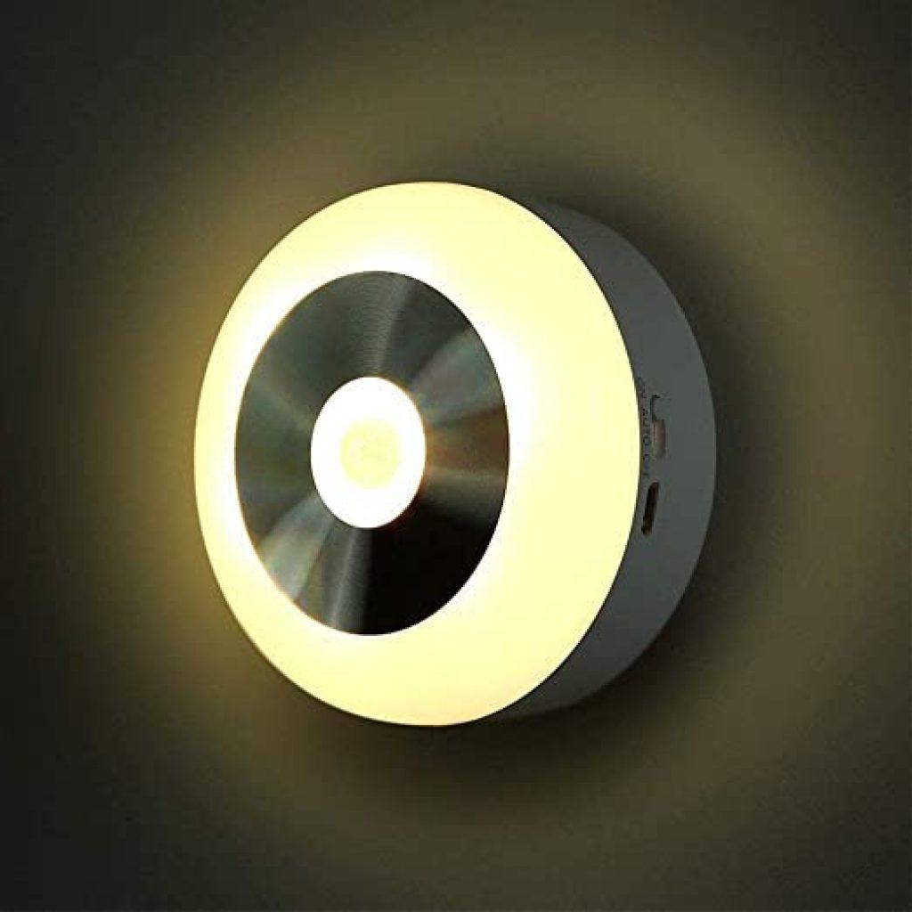 Motion sensing lights