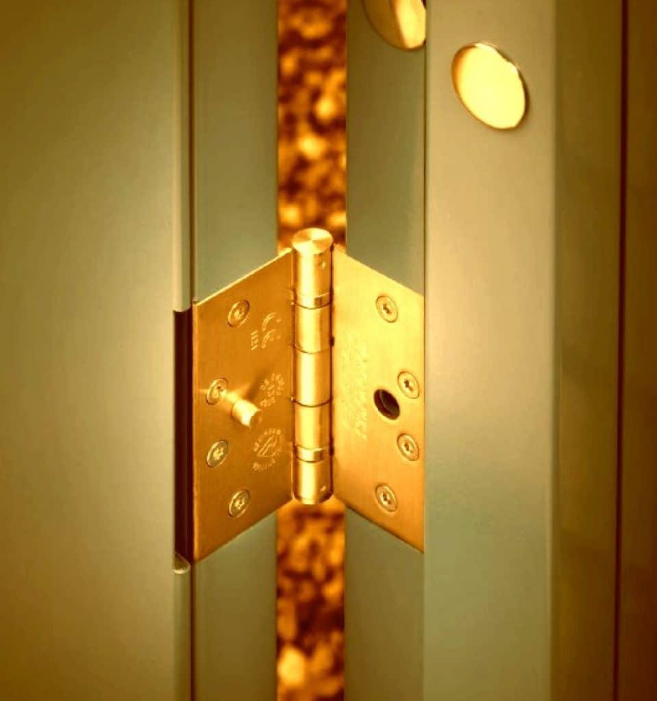 Secure Door Hinges