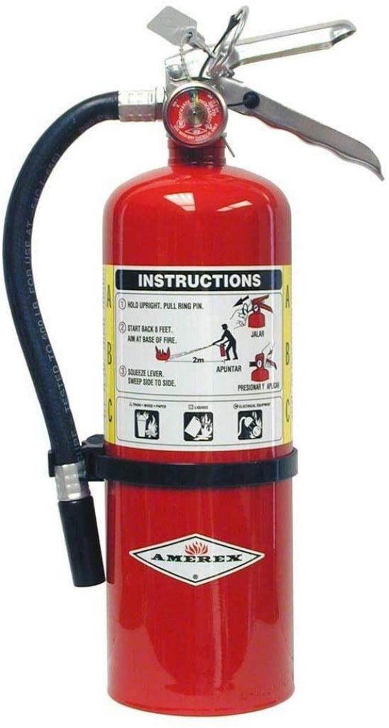 Amerex B402, Class A B C Fire Extinguisher