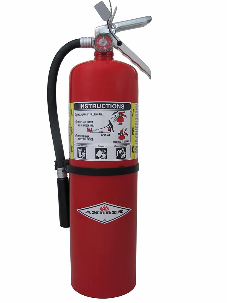 Labelmaster 10lb ABC Dry Chemical Fire Extinguisher