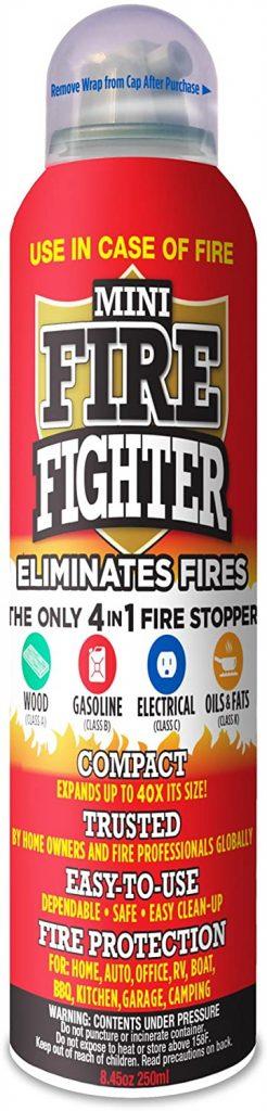 Mini Firefighter MFF01 Multi-Purpose 4-in-1 Fire Extinguisher
