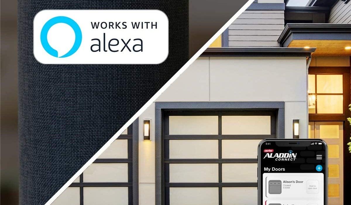 Alexa Compatible Garage Door Openers
